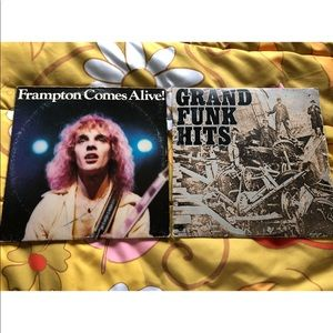 VTG 70s Rock Music Vinyl Record Bundle